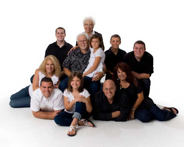Palm Harbor family portraits