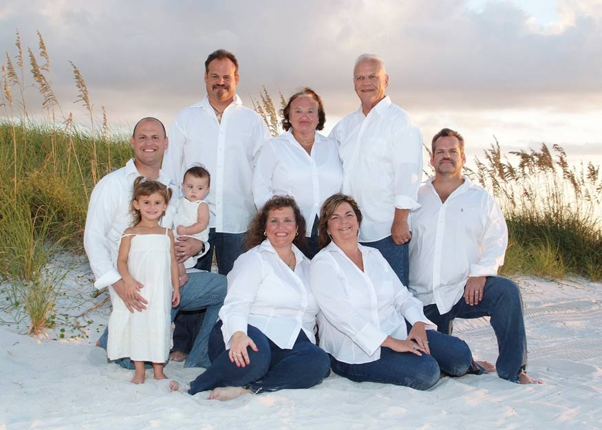 Clearwater Beach Photography of a Family