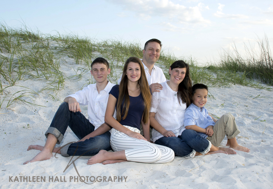 Family Portraits on Clearwater Beach